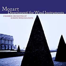 Mozart : Divertimento in F major K213 : III Menuetto