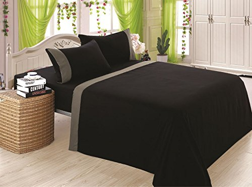 1800-count-4-piece-deep-pocket-bed-sheet-set-two-tone-design-new-queenblack-with-gray-trim