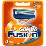 Gillette Fusion Klingen 4 Stück