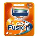"""Auslaufmodell Gillette Fusion Klingen 4 St�ckvon """"Gillette"""""""