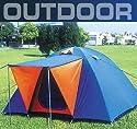 4 Personen Camping Automatik Schnellaufbau Zelt Modell ELECSA 3154