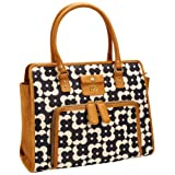 Orla Kiely Flower Shadow Dot Print Ella Shoulder Bag