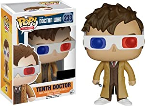 Funko POP TV: Doctor Who Tenth Doctor 3D Glasses Exclusive Figure by Funko