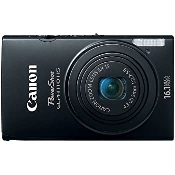 Set A Shopping Price Drop Alert For Canon PowerShot ELPH 110 HS 16.1 MP CMOS Digital Camera with 5x Optical Image Stabilized Zoom 24mm Wide-Angle Lens and 1080p Full HD Video Recording (Black)