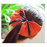 Xiong New Product Super Big Bowknot Fabric Hair Pins