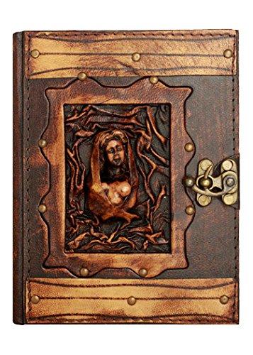 Escultura de mujer desnuda Hecho a mano orlato Diario Libro el Blocco Cuaderno de dibujo Personal Agenda Oficina Escuela Niños Niñas Mujeres Hombres