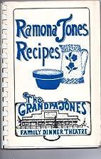Ramona Jones Recipes