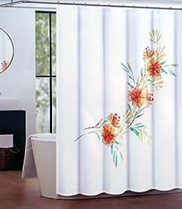 Amazon Com Tahari Fabric Shower Curtain Floral Pattern
