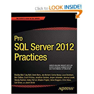 Pro SQL Server 2012 Practices (Professional Apress)