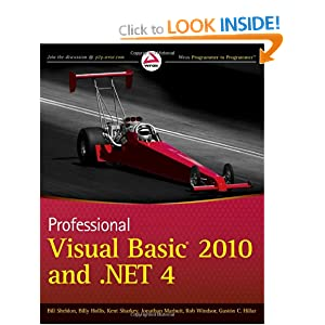 Professional Visual Basic 2010 and .NET 4 (Wrox Programmer to Programmer)
