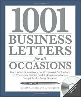 Buy 1001 Business Letters For All Occasions From