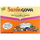 Goya Sazon with Coriander & Annatto - 3.52 oz.