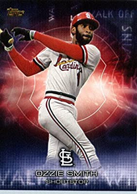 2016 Topps Walk Off Winners #WOW-13 Ozzie Smith St. Louis Cardinals Baseball Card