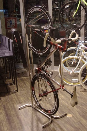 modoru Product No.1 Lusso ステンレスバイクスタンド