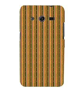 Decorative Line Pattern 3D Hard Polycarbonate Designer Back Case Cover for Samsung Galaxy Core 2 G355H