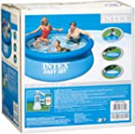 Intex 28112GS Easy-Set Pool Set, Kart...