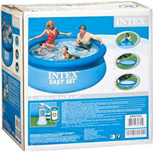 avis intex 56972 piscine autoportante swimming pool 244x76 avec pompe de filtre a cartouche. Black Bedroom Furniture Sets. Home Design Ideas