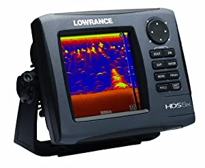 Lowrance HDS-5x GEN2 Fishfinder (No Plotter), with 5-inch LCD and 83 200 KHz Transducer. by Lowrance
