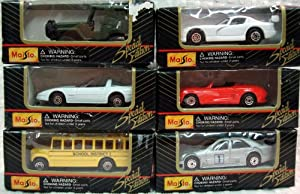 Maisto Special Edition Die Cast & Plastic Vehicles 1 64 Scale