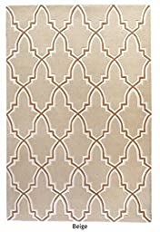 The Rug Republic Bernard Hand Tufted Wool Rug
