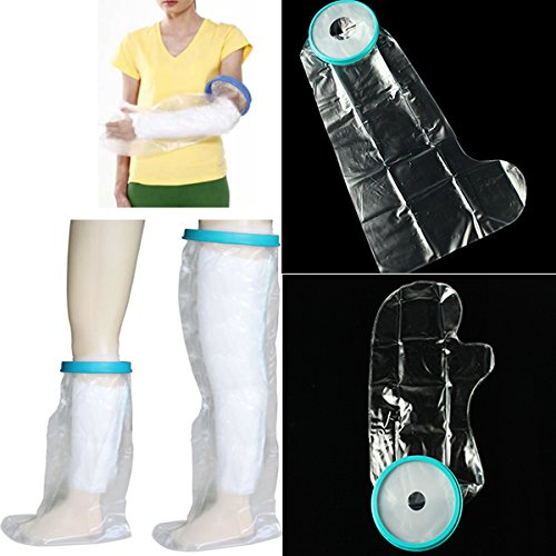 Shop24Hrs Bandage Wound Limb Waterproof Protector Cover Shower Adult Teenage (Hp Steam 7 Cover compare prices)