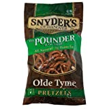Snyder's of Hanover Olde Tyme Pretzels, 16-Ounce Packages (Pack of 12)