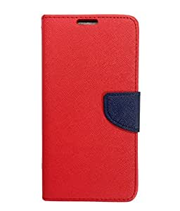 AlbaCase™ Flip Cover for Meizu M2 Flip Cover Case - Red And Blue