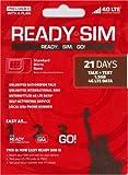 READY SIM トリプルカットで全SIMサイズ(標準・マイクロ・ナノ)に対応 アメリカ本土、ハワイ、プエルトリコで利用可能(通話+SMS+データ通信1.5GB、21日間)