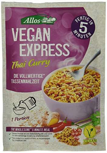 Allos Vegan Express Thai Curry, 6er Pack (6 x 65 g)