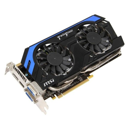 MSI GTX 660 Ti Power Edition Graphics Card with Triple Overvoltage and Enhanced PWM Design (N660TI PE 2GD5/OC)