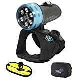Light & Motion Sola Dive 800 LED Light with Large Handstrap and FREE Float Strap