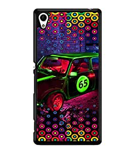 PRINTVISA Abstract Car Pattern Case Cover for Sony Xperia Z3+::Sony Xperia Z3 Plus