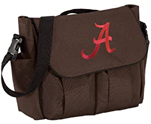 University of Alabama Diaper Bag Stylish Brown Official College Logo Alabama Cri