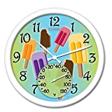 Springfield 98000 Popsicle Clock with Thermometer