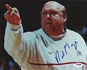 Rick Majerus Autographed Signed 8x10 Photo Utah #S41846 - PSA DNA Certified -... by Sports Memorabilia