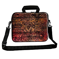 Theskinmantra Flower Design messenger bag for 13 inch laptop