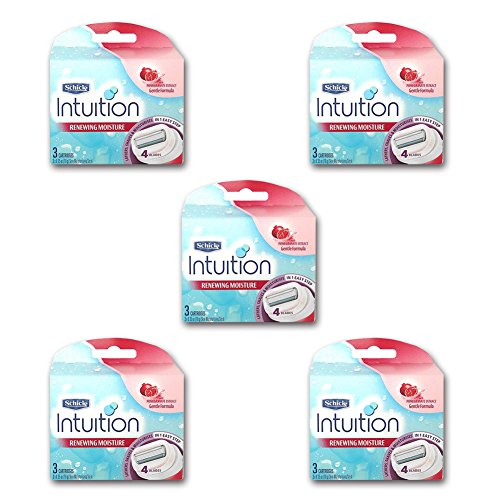 new-schick-intuition-razor-refill-cartridge-pomegranate-15-blade