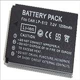 LP-E12 キャノン 互換バッテリー モノマップジェイピーオリジナル 0248-1