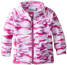 Columbia Baby Girls\' Benton Springs II Fleece Jacket, Blossom Pink Camo, 3-6 Months