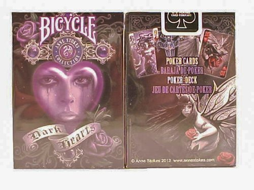 2 Decks Anne Stokes II Bicycle Playing Cards