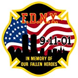 IN MEMORY OF OUR FALLEN HEROES DECAL