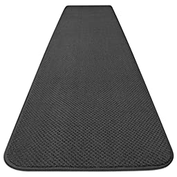 Skid-resistant Carpet Runner - Gray - 6 Ft. X 27 In. - Many Other Sizes to Choose From
