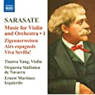 Sarasate: Music for Violin & Orchestra 1