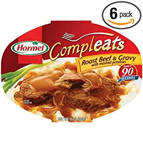 eats Roast Beef & Mash Potatoes, 10-Ounce Units (Pack of 6): Amazon.com
