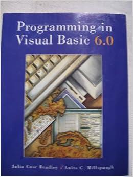 Microsoft visual basic 6.0 book