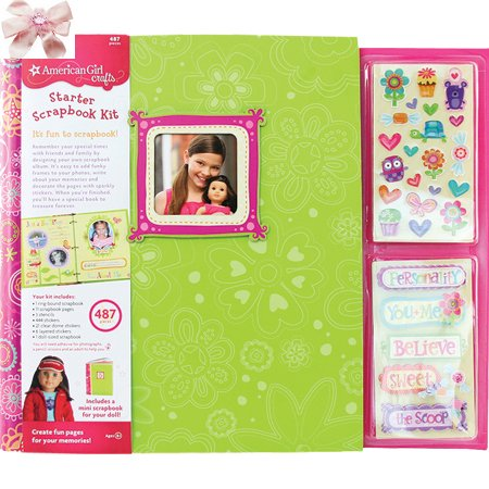 2 Item Bundle: American Girl Crafts - Scrapbook 