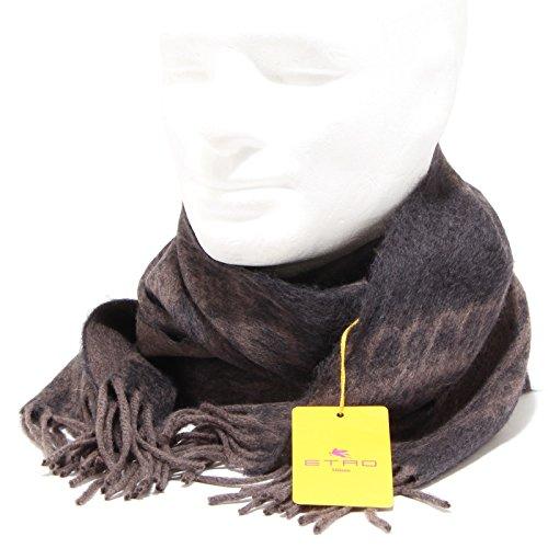 7516P sciarpa unisex grigio/fango lana ETRO accessori uomo scarf [Taglia unica]