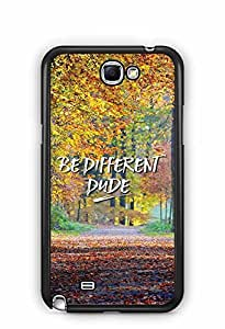 YuBingo Be Different Dude Designer Mobile Case Back Cover for Samsung Galaxy Note 2
