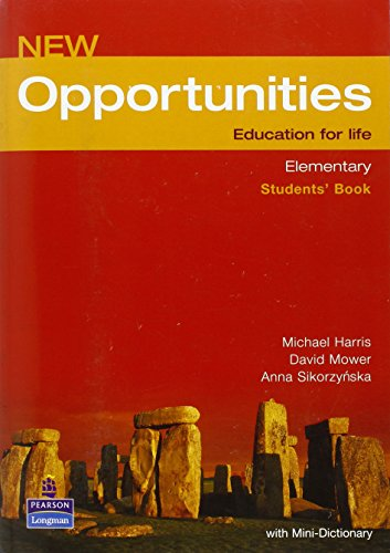 New Opportunities. Elementary. Students' Book: Global Elementary Students' Book