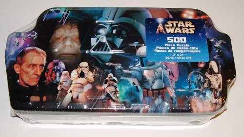Star Wars collectible VILLAINS 500 piece Puzzle in collector tin